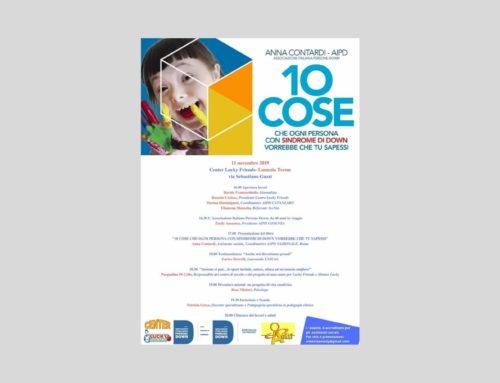 """""""10 cose che ogni persona con sindrome di Down vorrebbe che tu sapessi"""", incontro con AIPD Cosenza"""