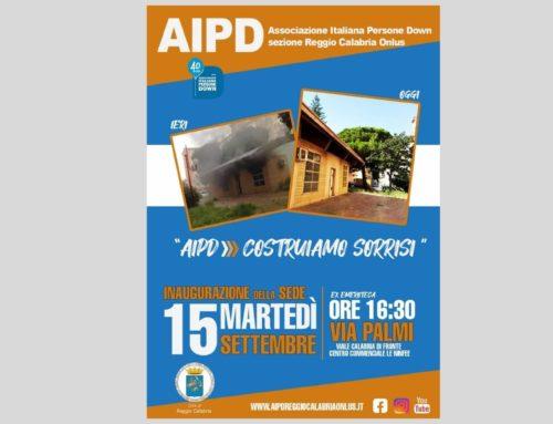 AIPD Reggio Calabria inaugura la nuova sede