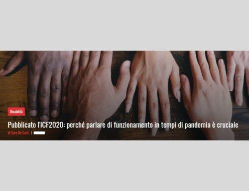 ICF 2020, pubblicata da OMS la 2° edizione della Classificazione Internazionale del Funzionamento, della Disabilità e della Salute