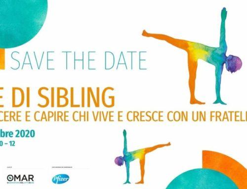"""""""Vita di Siblings"""", evento online il 19 novembre 2020"""