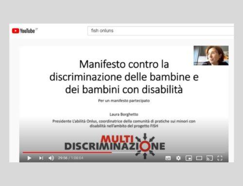 Giornata Infanzia e Adolescenza, FISH presenta il Manifesto contro la discriminazione