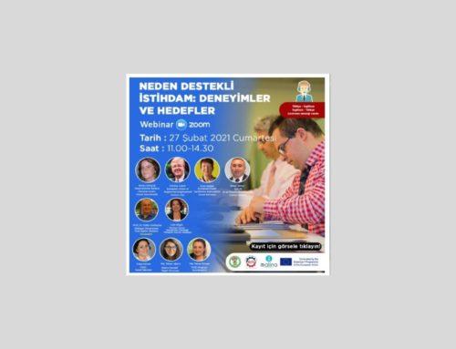 Inserimento lavorativo, l'esperienza AIPD al webinar internazionale promosso dall'associazione turca