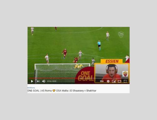 One Goal, AS Roma pubblica il quarto video per la campagna a sostegno di AIPD