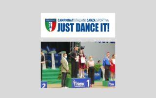 Chiara Pozzatti e Matteo Rebecchi, campioni italiani di categoria danze latine paraolimpiche
