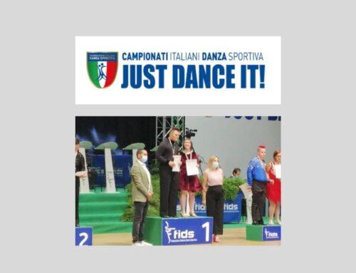 Matteo Rebecchi e Chiara Pozzatti, Campioni Nazionali di Danze Latine Paraolimpiche 2021