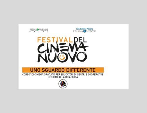 Festival del Cinema Nuovo, un corso di cinema gratuito per educatori di persone con disabilità