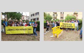 """il gruppo di AIPD Potenza all'evento """"Il giardino dei diritti"""""""