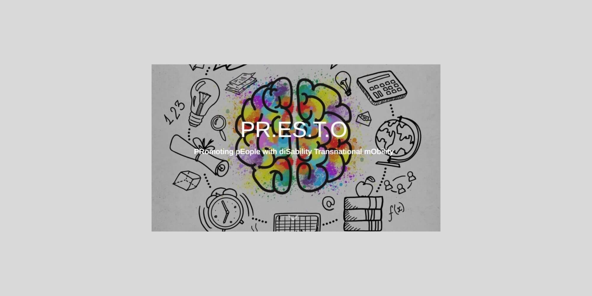 logo progetto europeo PRESTO