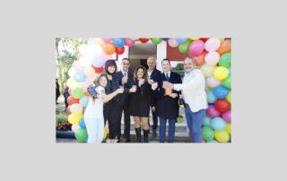 foto di gruppo per inaugurazione sede AIPD Latina