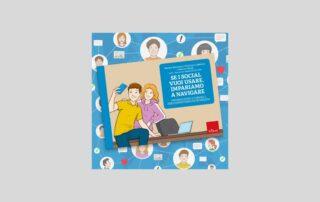 """Copertina libro """"Se i social vuoi usare, impariamo a navigare"""""""